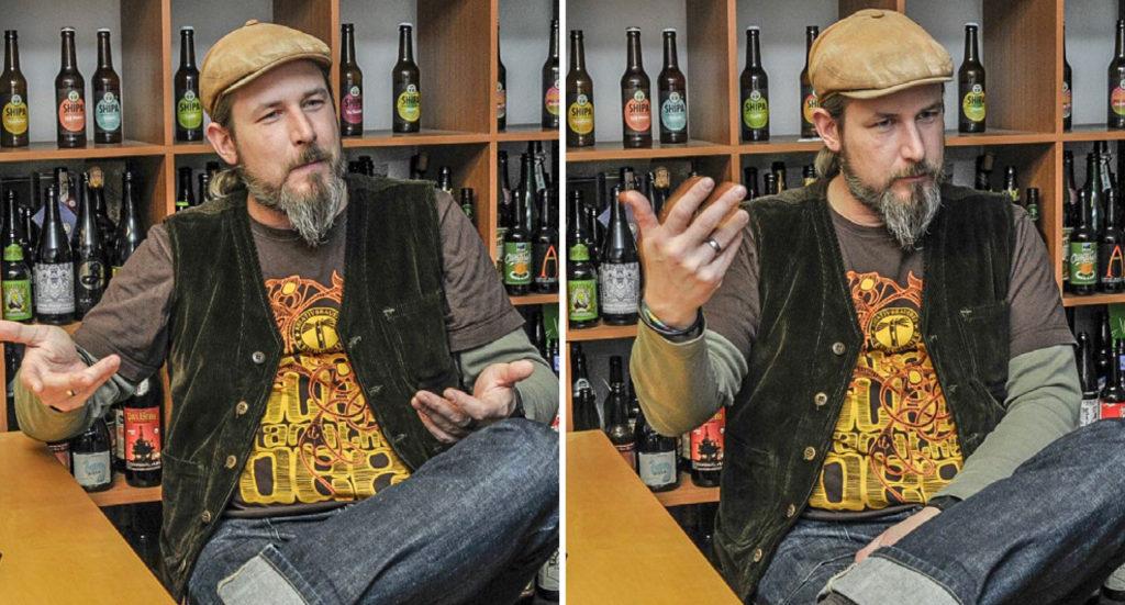 Oliver Wesseloh ist Dipl. Ing. für Brauwesen und gewann 2013 die Weltmeisterschaft der Biersommeliers.